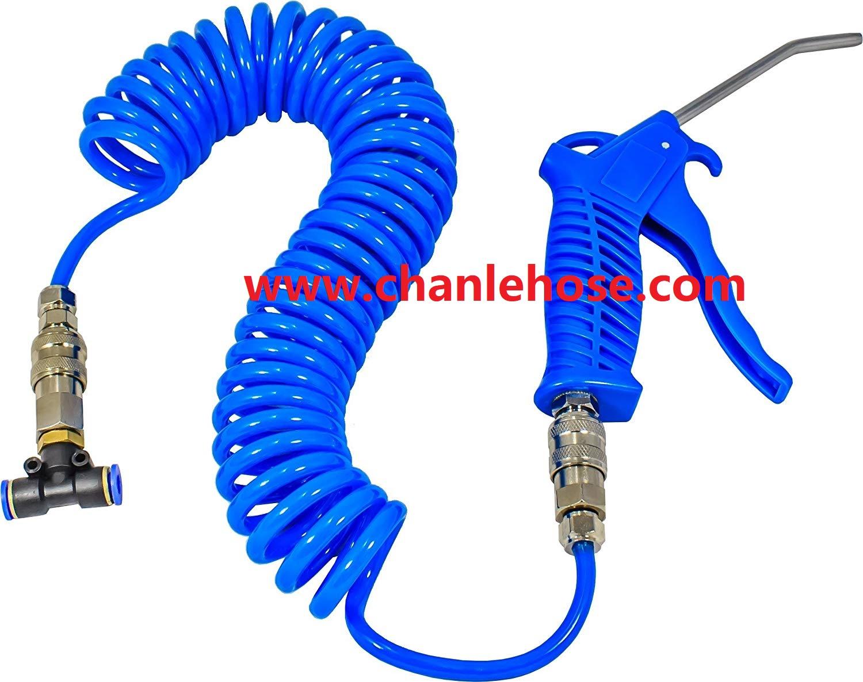 Polyurethane spiral hose